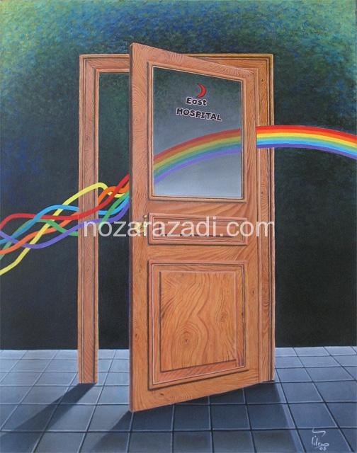 the-beeming-open-door-oil-on-canvas-158cm-x-86cm